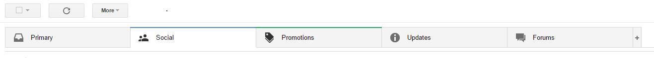 התיבות החדשות של Gmail